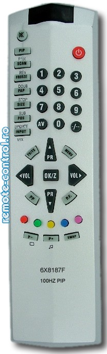 Telecomanda 6X8187F BEKO