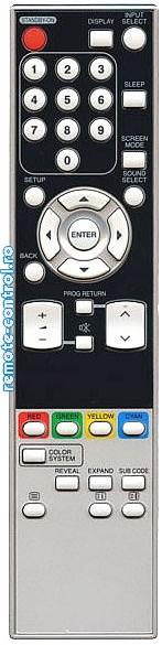 Telecomanda NF007RD Funai remote-control.ro