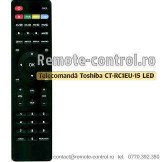 Telecomandă-Toshiba-CTRC1EU15-LED-remote-control-ro