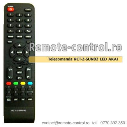 Telecomanda RCT-Z-SUN92 LED TV AKAI LT3226A