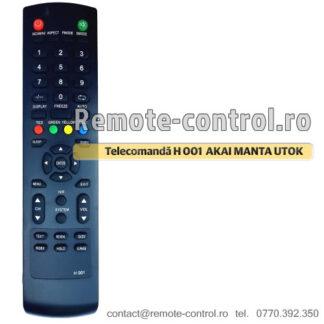 Telecomanda H001 AKAI UTOK