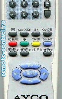 Telecomanda Ayco_remote-control.ro
