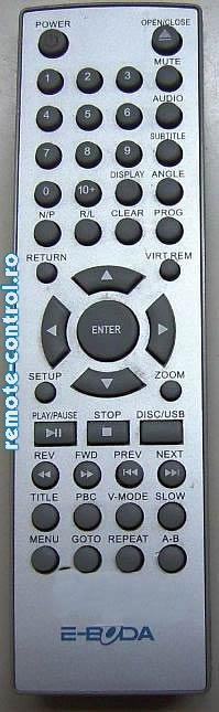 Telecomanda DVD EBODA_remote-control.ro