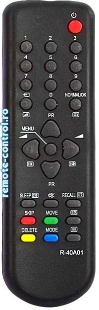 Telecomanda TV Daewoo R-40A01_remote-control.ro