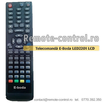 Telecomanda-Eboda-LED2201-remote-control-ro