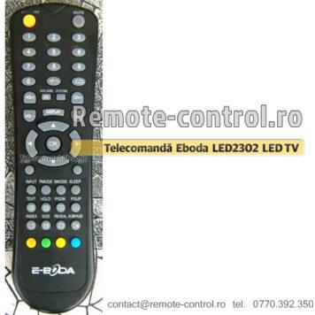 Telecomandă E-boda, Telecomandă LED2302, LED TV, LED 2302