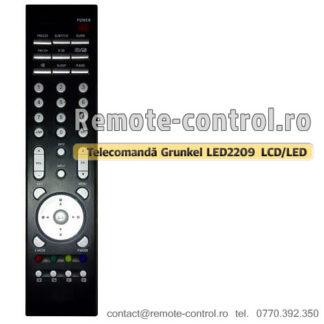 Telecomanda-Grunkel-LED2209-TV-remote-control-ro