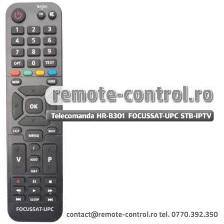 Telecomanda HR-B301 Receptor Focussat UPC Digi