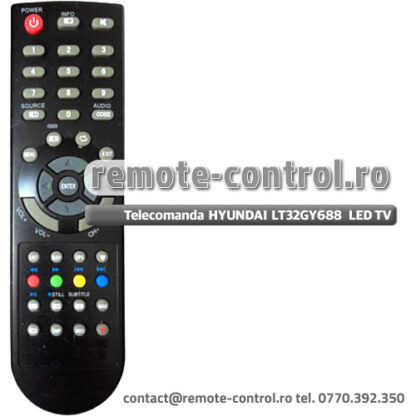 Telecomanda HYUNDAI LT32GY688 LED TV