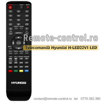 Telecomanda-Hyundai-HLED22V1-remote-control-ro