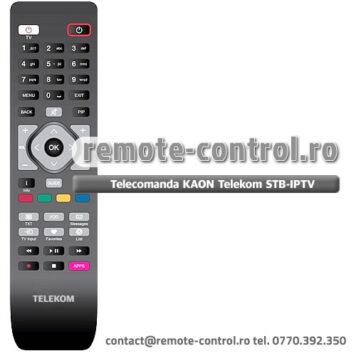 Telecomanda Receptor Telekom Kaon