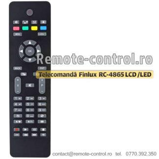 Telecomanda-LCD-Finlux-RC4865-remote-control-ro