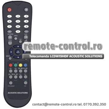 Telecomanda LCDW19HDF ACOUSTIC SOLUTIONS