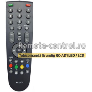 Telecomanda-LED-Grundig-RC-AD1-remote-control-ro