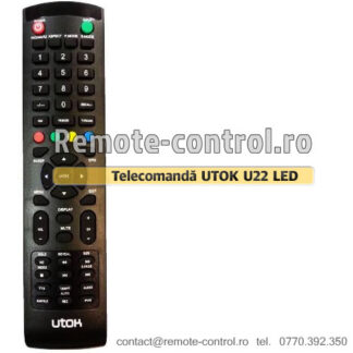 Telecomanda-LED-UTOK-U24FH1-remote-control-ro