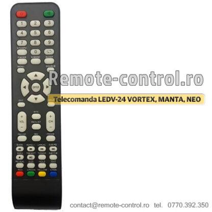 Telecomanda LEDV-24 VORTEX