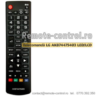 Telecomanda-LG-AKB74475403-LED-remote-control-ro