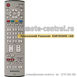 Telecomanda-Panasonic-EUR765101C-LCD-remote-control-ro