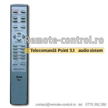 Telecomanda Point 5.1 HI-FI Sistem audio