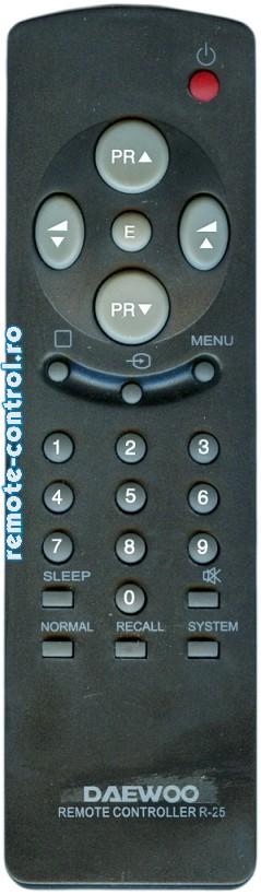 Telecomanda R25_remote-control.ro
