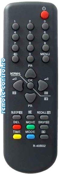 Telecomanda TV R40B02 Daewoo_remote-control.ro