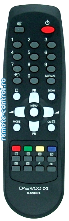 Telecomanda R59B01 Daewoo_remote-control.ro