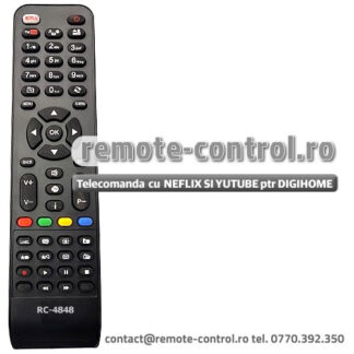 Telecomanda DIGIHOME 32272SMHDLED RC4848