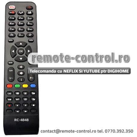 Telecomanda DIGIHOME 32272SMHDLED RC4848