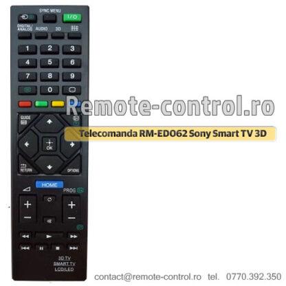 Telecomanda RM-ED062 Sony Smart TV 3D