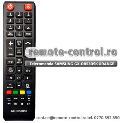 Telecomanda Samsung GX-OR530SK Receptor Orange