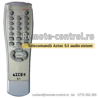 Telecomanda Sistem Audio Aztec 5.1