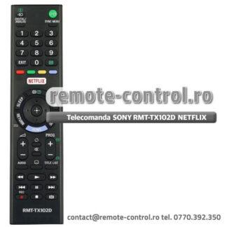 Telecomanda SONY RMT-TX102D KDL-32WD757 Netflix