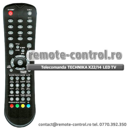 Telecomanda TECHNIKA X22/14 B GB TCD LED TV