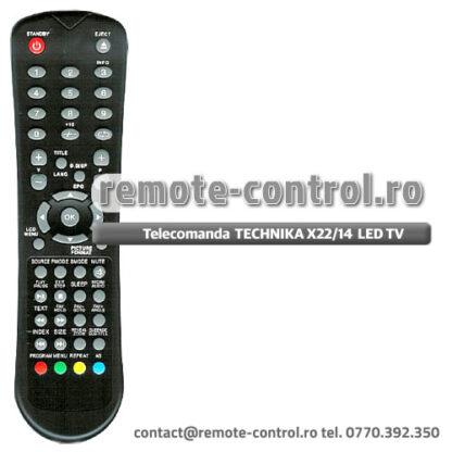 Telecomanda TECHNIKA X22/14 B GB TCD LED TV