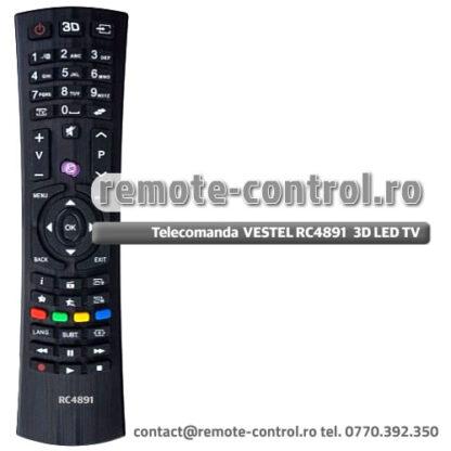 Telecomanda TELEFUNKEN RC4891 L39F197N3C