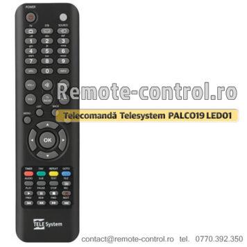 Telecomanda-Telesystem-PALCO19LED01-remote-control-ro