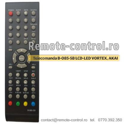 Telecomanda B-085-SB LCD-LED VORTEX