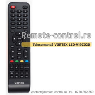 Telecomanda-Vortex-LED-V19C02D-remote-control-ro