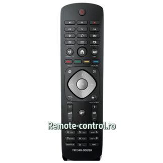 Telecomanda-YKF348-001-88_Philips-LCD-TV-remote-control-ro