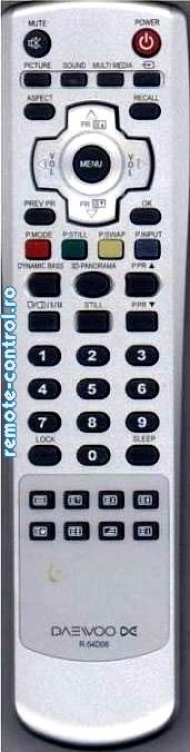 Telecomenzi_Daewoo-R54D06_remote-contro.ro