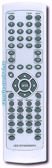 Telecomenzi_LE21DTVDVD0701_Dual_remote-control.ro