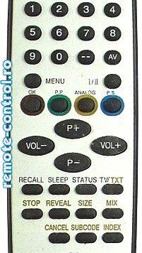 Telecomanda Tauras RC35-4 14CX7T
